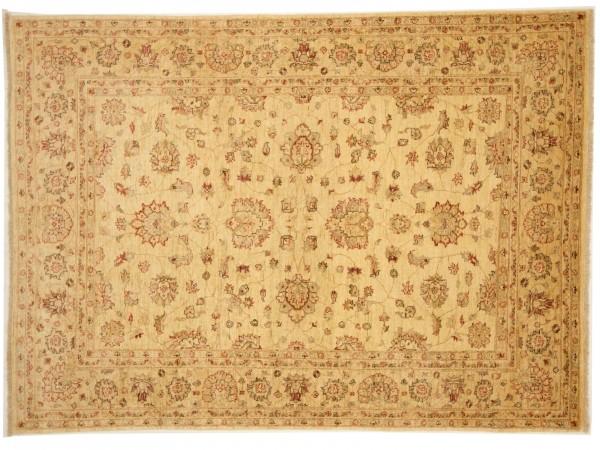 Afghan Chobi Ziegler 248x176 Handgeknüpft Teppich 180x250 Rot Blumenmuster Kurzflor