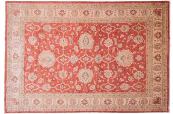 Afghan Chobi Ziegler Fein 292x198 Handgeknüpft Teppich 200x290 Rot Blumenmuster