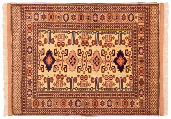 Afghan Mauri Kabul 153x117 Handgeknüpft Teppich 120x150 Mehrfarbig Geometrisch Muster