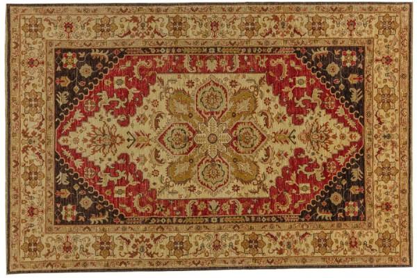 Afghan Chobi Ziegler 271x179 Handgeknüpft Teppich 180x270 Mehrfarbig Orientalisch