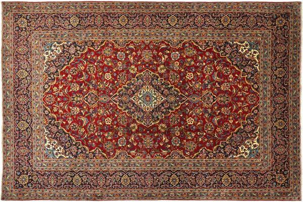 Kashan 350 x 250 Keshan Perserteppich 356x262 cm Handgeknüpft Oriental carpet