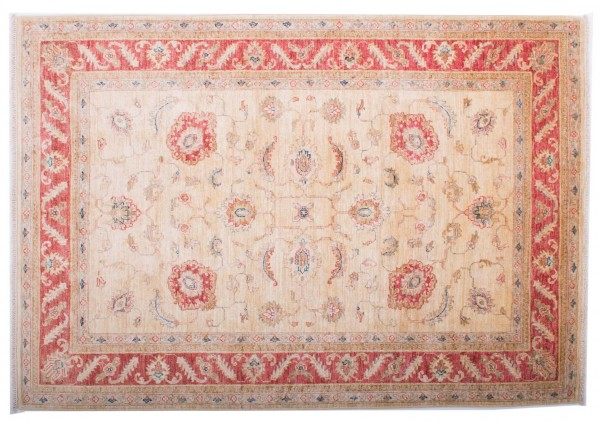 Afghan Chobi Ziegler Fein 173x121 Handgeknüpft Teppich 120x170 Rot Blumenmuster