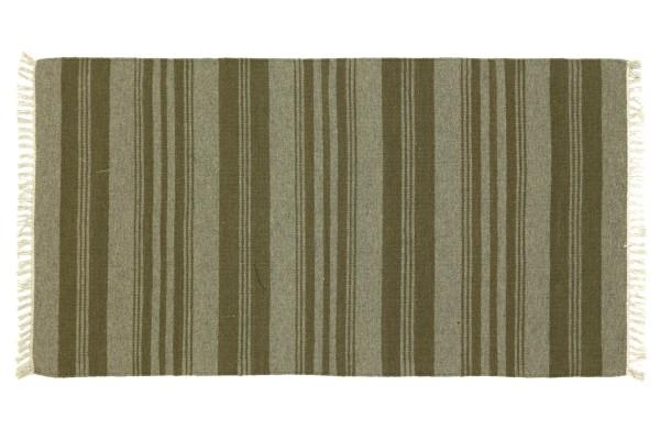 Kelim 160x90 Handgewebt Teppich 90x160 Mehrfarbig Gestreift Handarbeit Orient Zimmer
