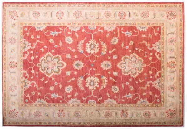 Afghan Chobi Ziegler Fein 181x125 Handgeknüpft Teppich 130x180 Rot Orientalisch