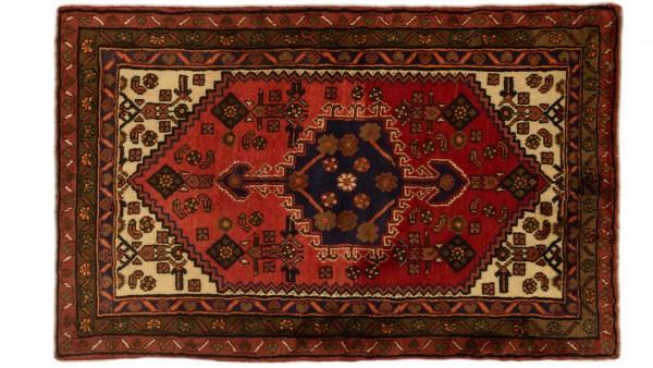 Hamadan 150 x 100 Hamedan Perserteppich 140x89 cm Handgeknüpft Oriental carpet