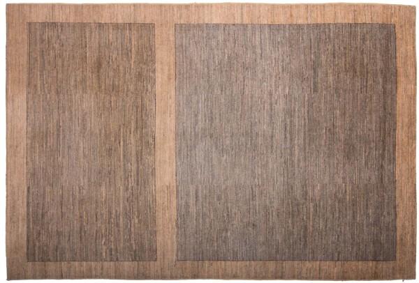 Afghan Modern Chobi Ziegler 288x194 Handgeknüpft Teppich 190x290 Braun Geometrisch