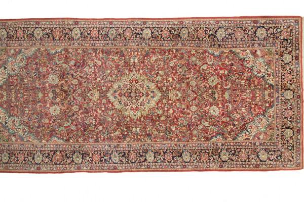 Perser Perserteppich Antik 590x299 Handgeknüpft Teppich 300x590 Mehrfarbig Orientalisch