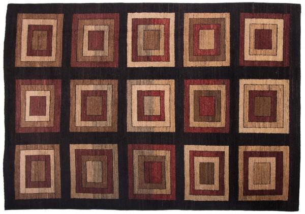 Afghan Modern Chobi Ziegler 258x183 Handgeknüpft Teppich 180x260 Mehrfarbig Geometrisch