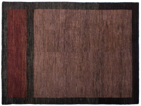Afghan Modern Chobi Ziegler 196x145 Handgeknüpft Teppich 150x200 Mehrfarbig Geometrisch
