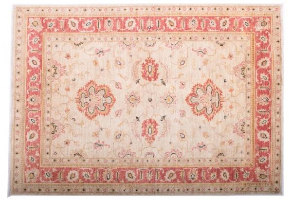 Afghan Chobi Ziegler Fein 173x123 Handgeknüpft Teppich 120x170 Rot Blumenmuster