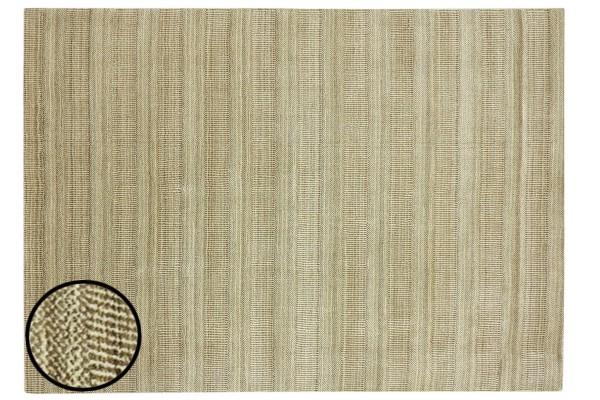 Handloom Grass 120x180 140x200 160x230 200x300 Läufer Handgewebt Teppich Beige Grau