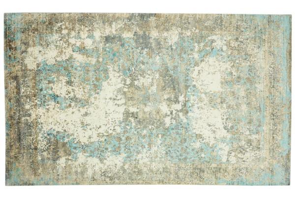 Handloom Vintage 160x90 120x180 160x230 200x300 Handgewebt Teppich Grau Abstrakt Handarbeit