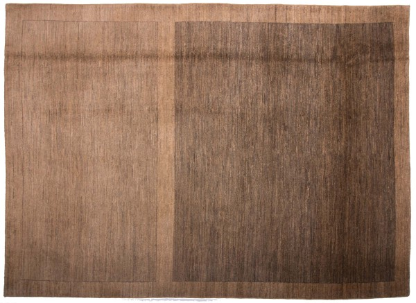 Afghan Modern Chobi Ziegler 335x242 Handgeknüpft Teppich 240x340 Braun Geometrisch
