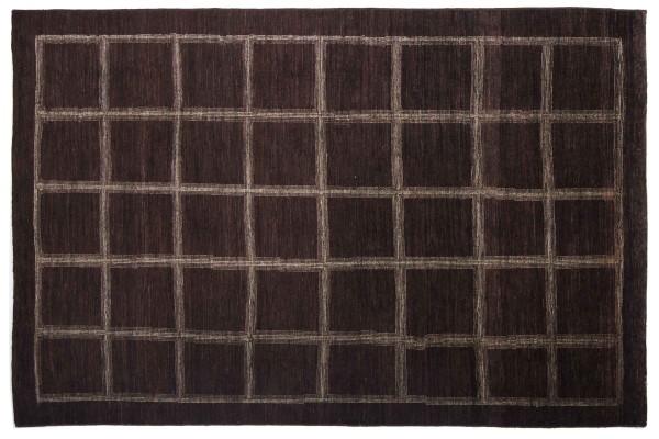 Afghan Modern Chobi Ziegler 271x177 Handgeknüpft Teppich 180x270 Braun Geometrisch