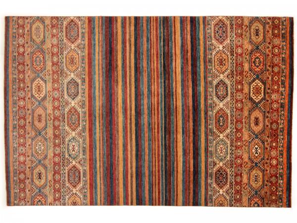 Chobi-Ziegler 322x212 cm (10,6x6,79 ft) Handgeknüpfter Teppich aus Afghanistan